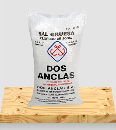Sales para Industria Sal Gruesa Común