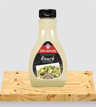 Salsas Ranch con mix de semillas x 350g