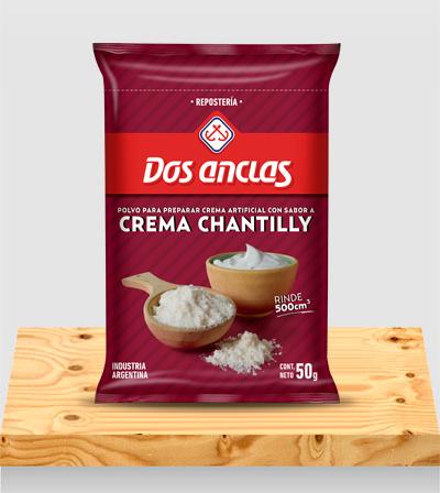 Repostería Polvo para preparar Crema Chantilly x 50g