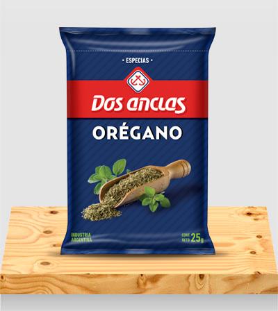 Especias Orégano Paquete x 25g