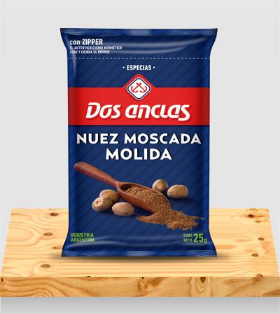 Especias Nuez Moscada Paquete x 25g