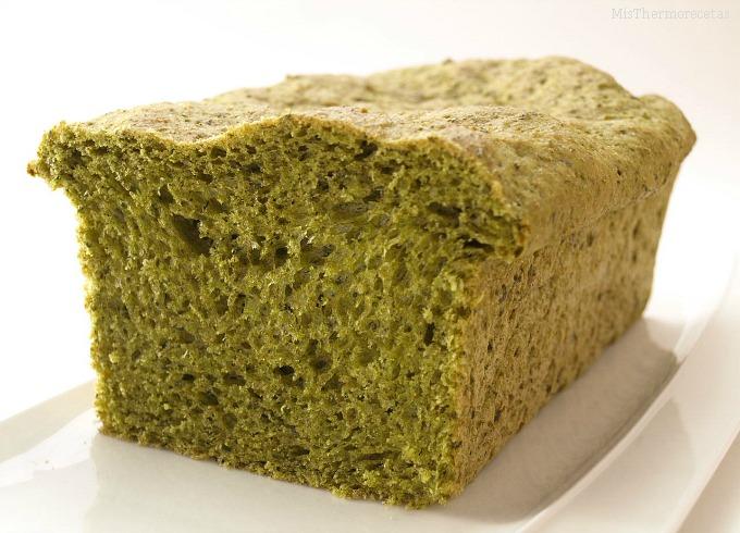 Pan de Espinaca sin cocción
