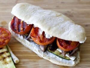 Sándwich de Verduras Asadas