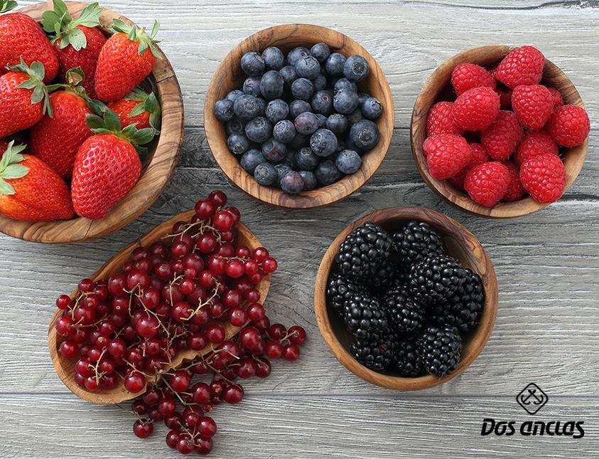 Frutas de la primavera.